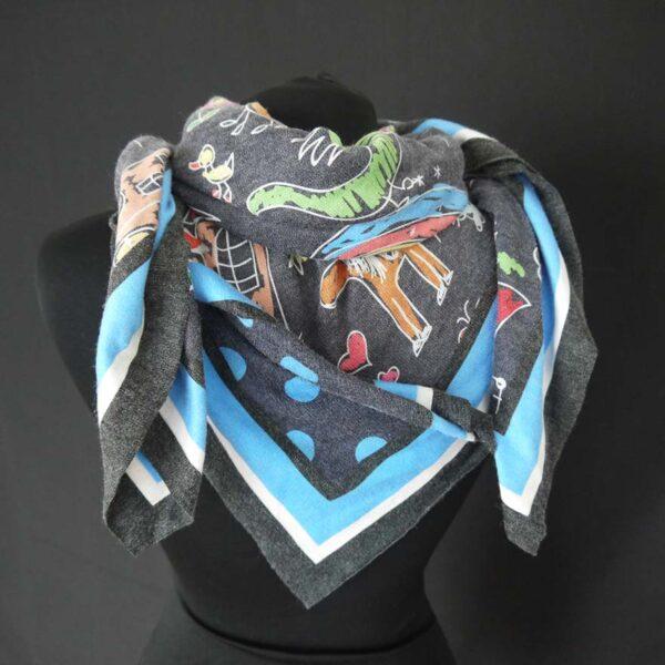 Foulard centolire maglia